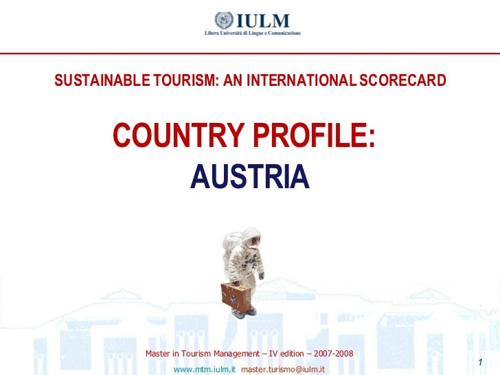 II Dossier Tourism and Sustainability: An international Scorecard_Attachments