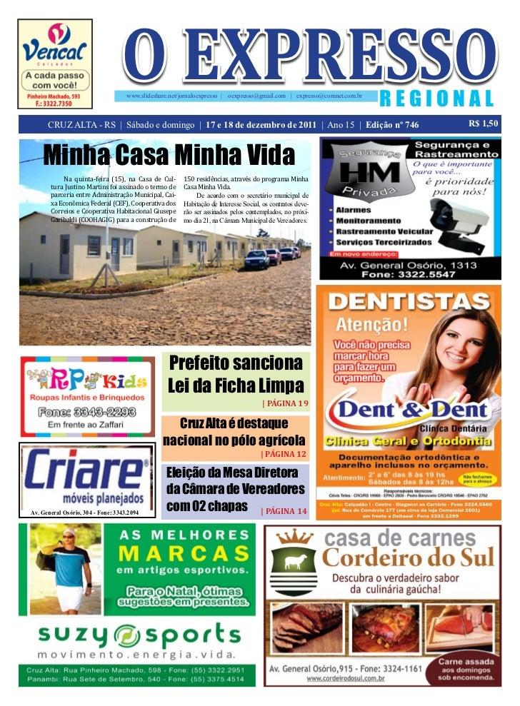 o expresso                                    www.slideshare.net/jornaloexpresso     oexpresso@gmail.com   expresso@comnet...