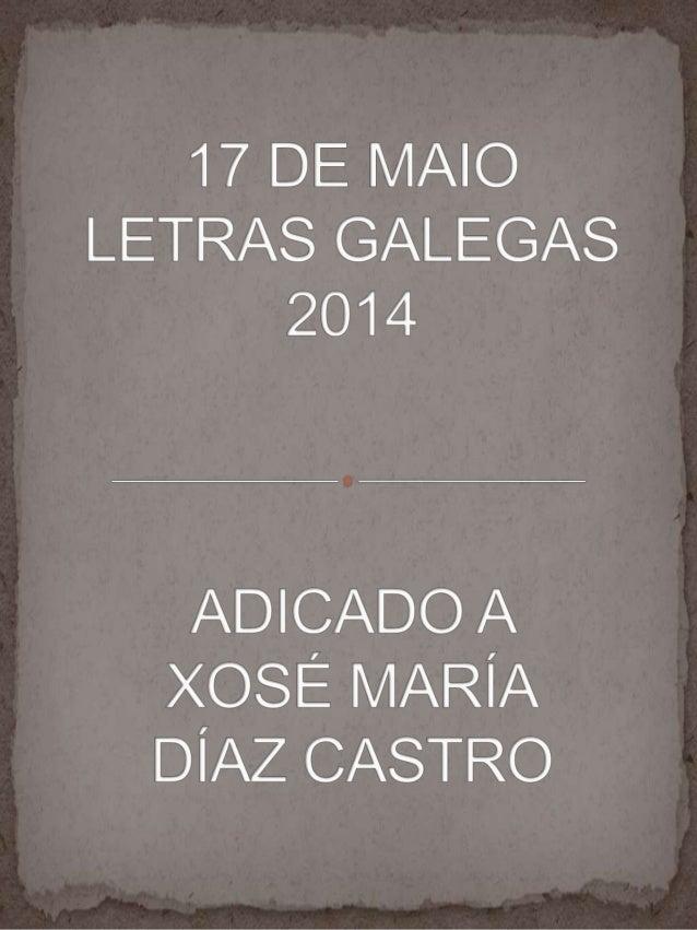 LETRAS GALEGAS 2014