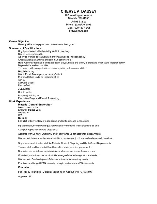 resume cheryl 2 rtf