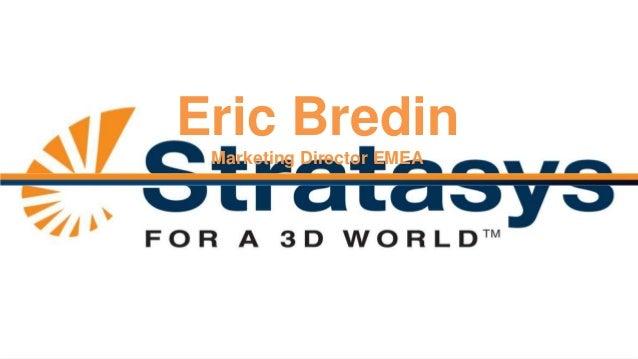 Eric Bredin Marketing Director EMEA