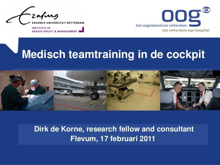 17 februari 2011- Vision Dinner- Presentatie Dirk de Korne