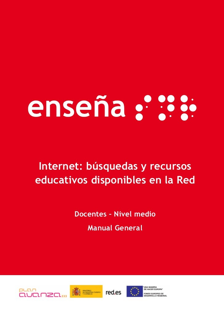 Documento=Internet: Búsqueda y Recursos Educativos
