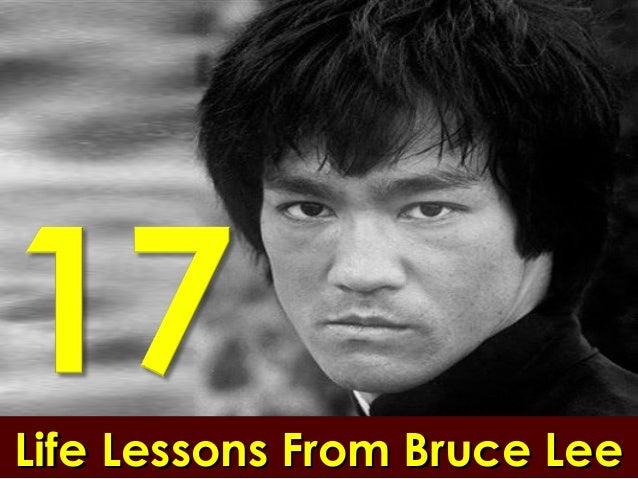 17 life lessons from bruce lee presentation by sompong yusoontorn