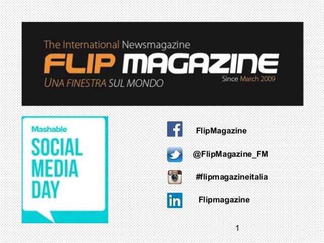 1 @FlipMagazine_FM #flipmagazineitalia FlipMagazine Flipmagazine