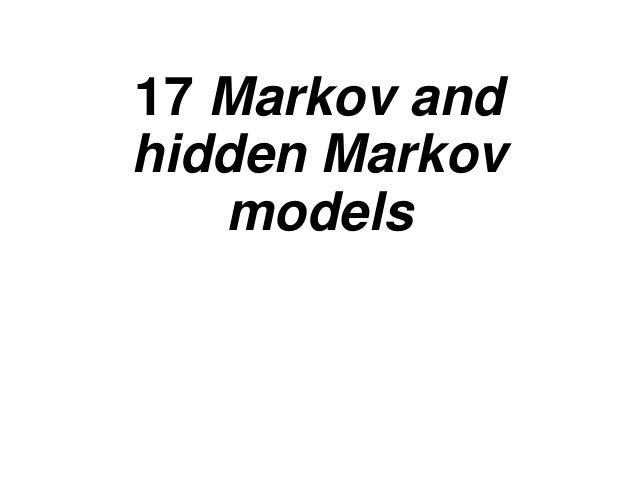 머피의 머신러닝: 17장  Markov Chain and HMM
