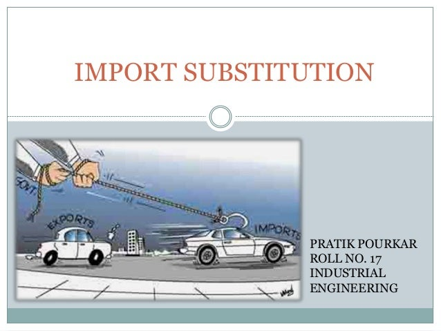 import substitution example
