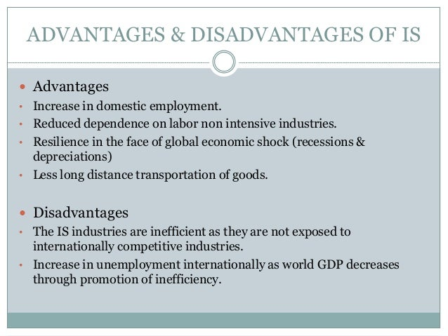 disadvantages of industrialization essay