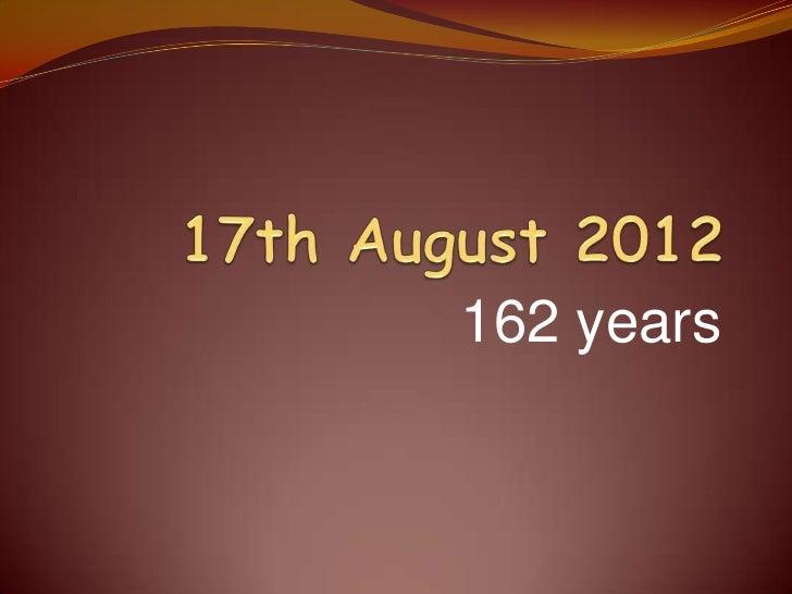 162 years