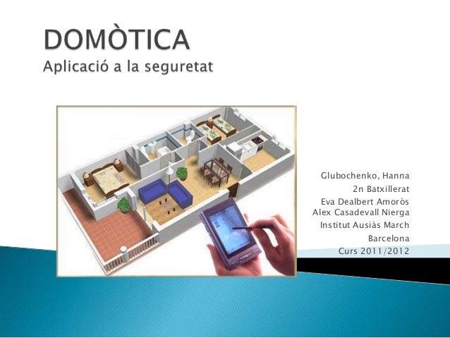 Presentación Domótica