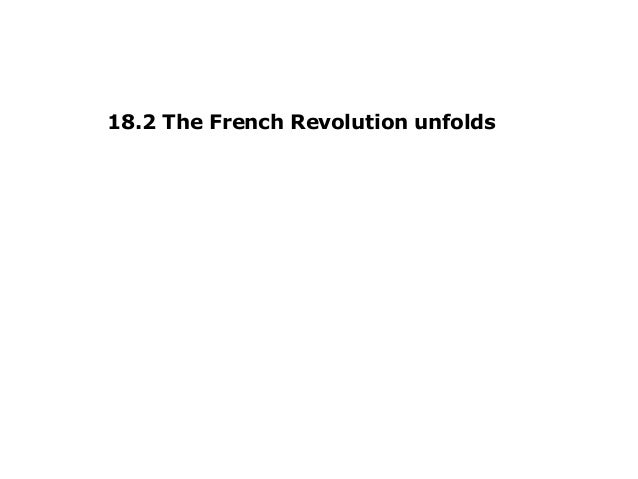 18.2 The French Revolution unfolds
