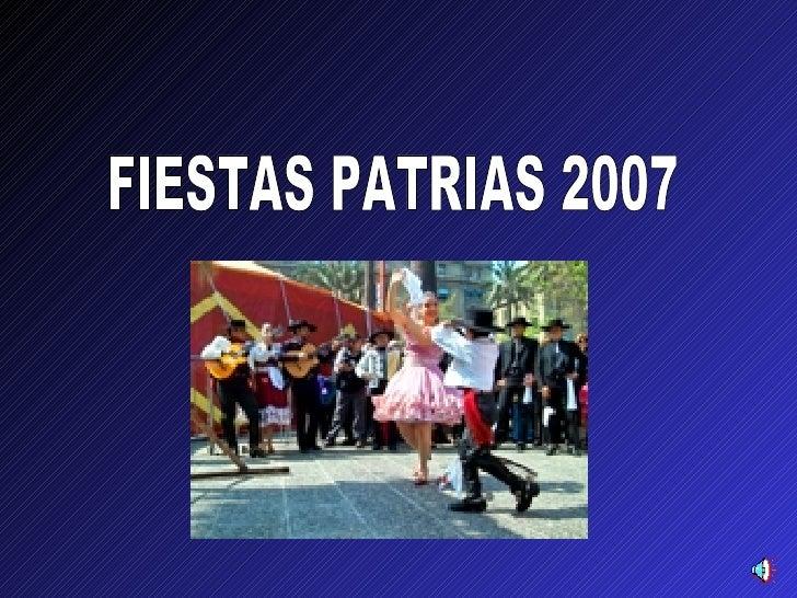 FIESTAS PATRIAS 2007