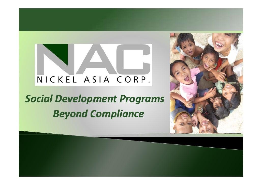 Dennis Zamora - NAC - Social Development Programs Beyond Compliance