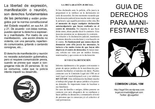 La libertad de expresión,                                                                                               GU...