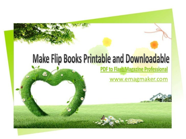how to make a pdf flip pages like a book