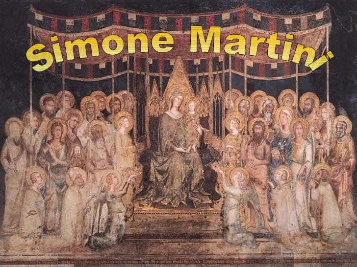 Simone MartiniLa vita          Le opere