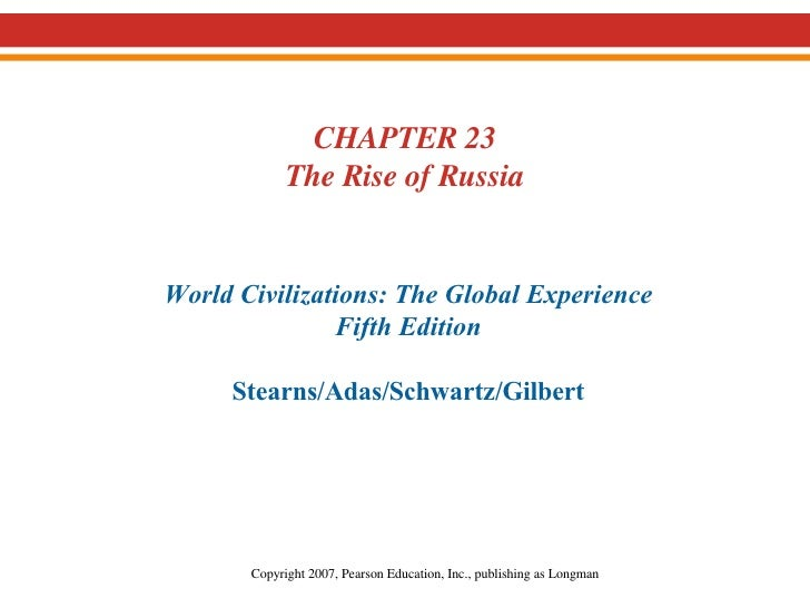 18.  The Rise of Russia