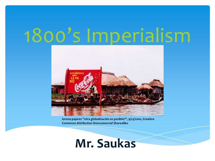 Power Point Presentation for Imperialism