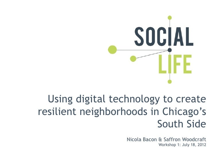 Digital technology and resilient communities