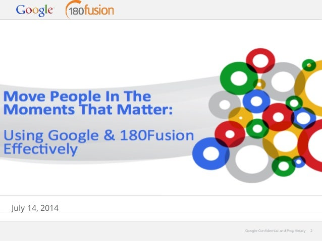 Google and 180fusion Seminar on Paid Search Success