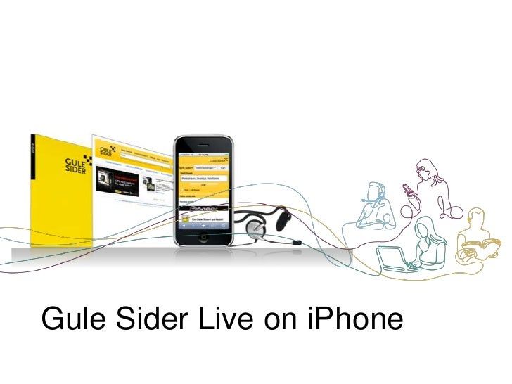 Gule Sider Live on iPhone<br />