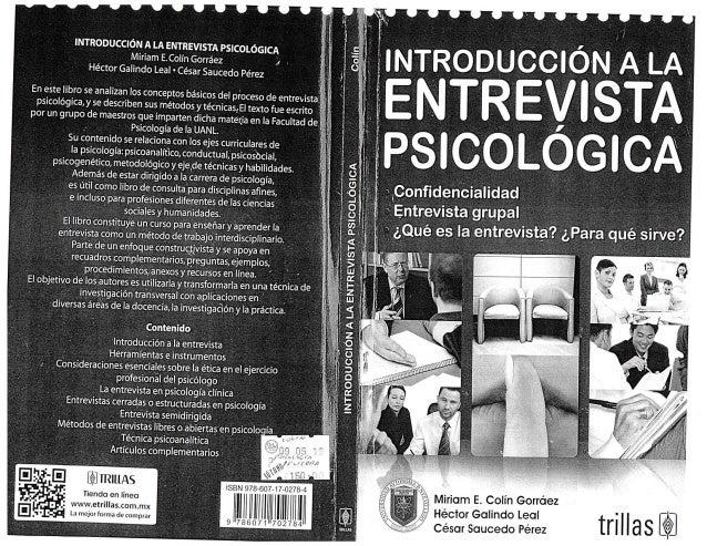 Pin entrevista psicologica pdf videos relacionados con on for Introduccion a la gastronomia pdf