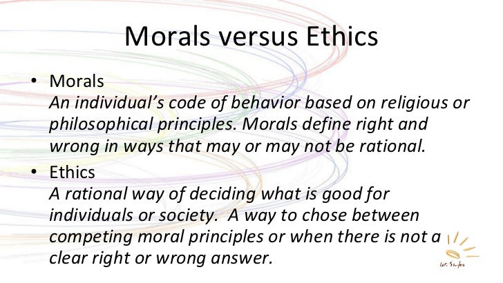 moral values definition philosophy