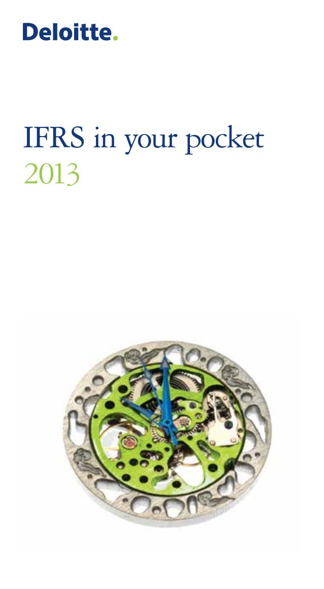 IFRS in your pocket 2013
