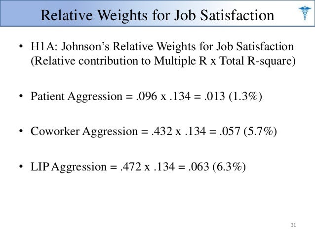 stress and job satisfaction nursing essay Aims and objectives of the research study, job satisfaction among nurses with regard to stamps measurement of job satisfaction.