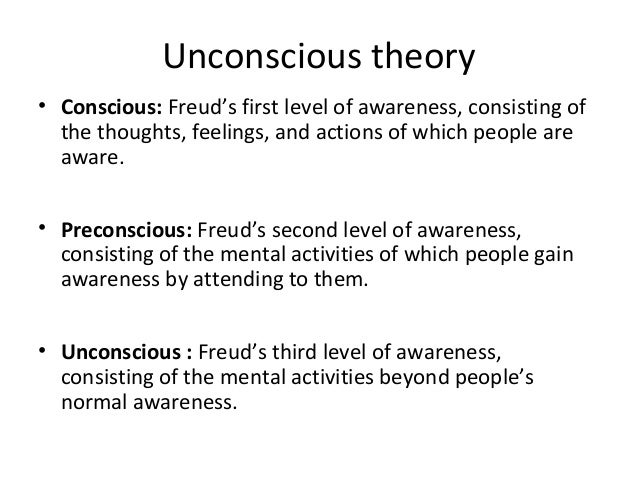 Unconscious Theory