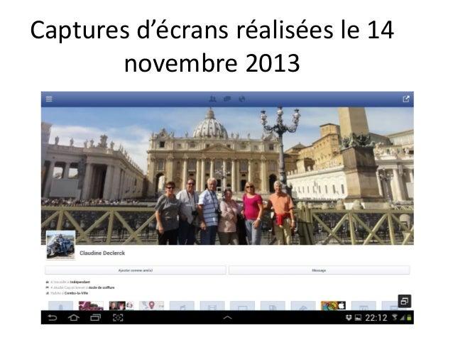 Captures d'écrans réalisées le 14 novembre 2013