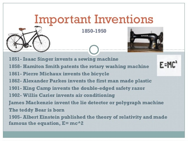 important inventions