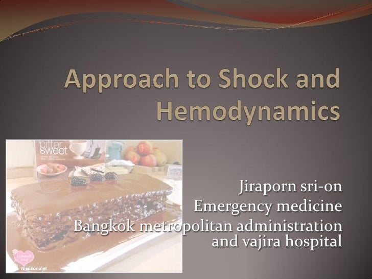 Approach to Shock and Hemodynamics