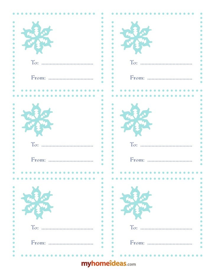 Gift Tags-Snowflakes2