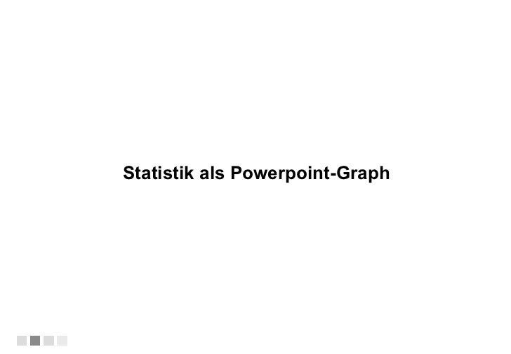 Statistik als Powerpoint-Graph