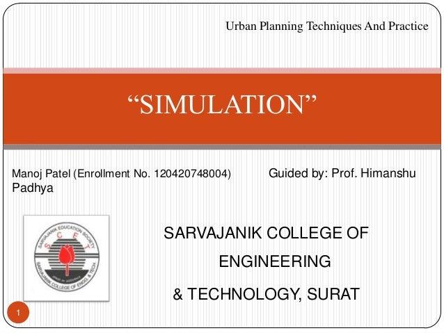 SARVAJANIK COLLEGE OF ENGINEERING & TECHNOLOGY, SURAT 1 Manoj Patel (Enrollment No. 120420748004) Guided by: Prof. Himansh...