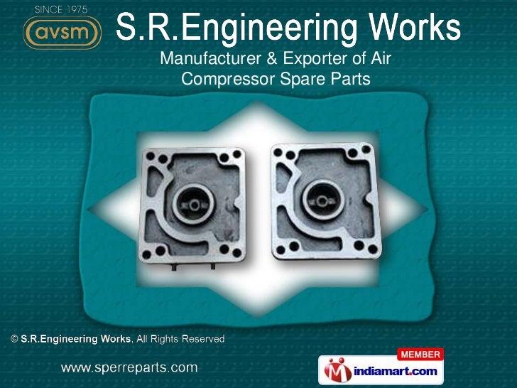 S.R.Engineering Works Maharashtra  INDIA