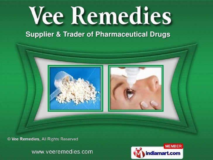 Supplier & Trader of Pharmaceutical Drugs