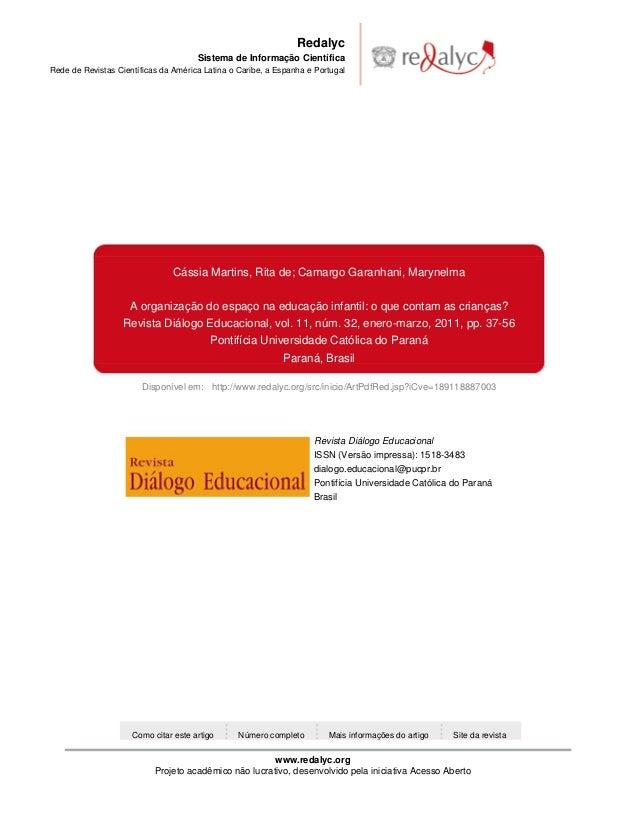 Redalyc                                      Sistema de Informação CientíficaRede de Revistas Científicas da América Latin...