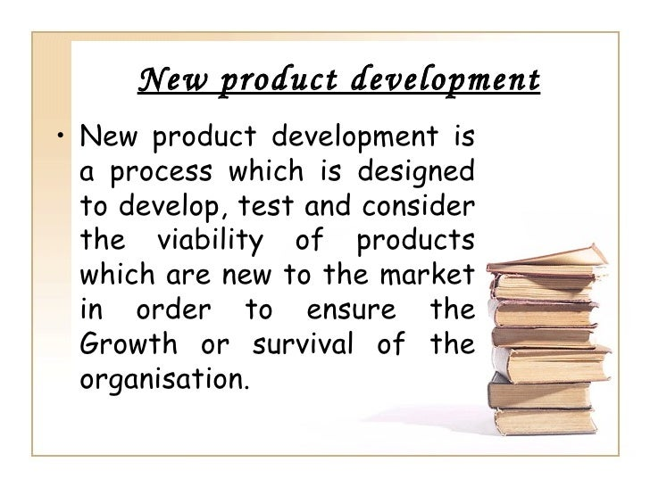 new product seven stage process