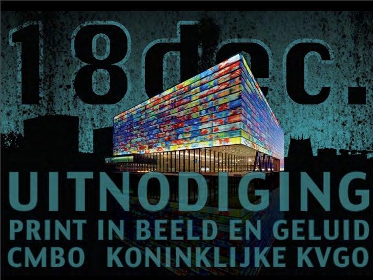 'Print in Beeld en Geluid'