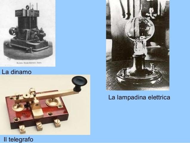 la dinamo la lampadina elettrica il telegrafo 12 altri effetti