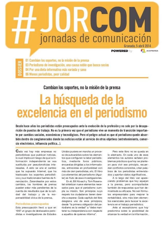 Periodismo. Dossier de Aceprensa