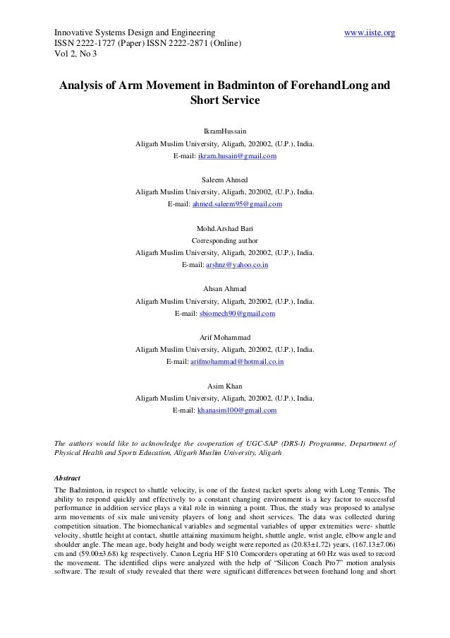 Innovative Systems Design and Engineering www.iiste.org ISSN 2222-1727 (Paper) ISSN 2222-2871 (Online) Vol 2, No 3 Analysi...