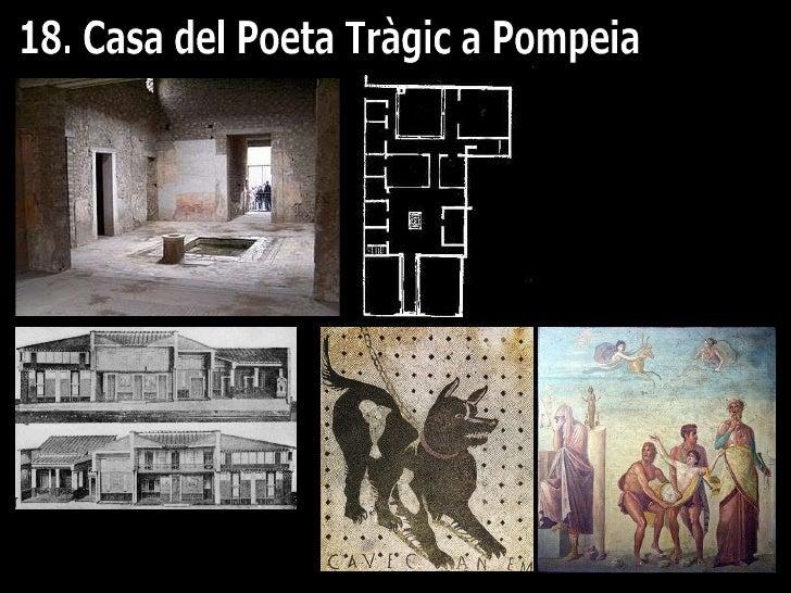 18. Casa del Poeta Tràgic a Pompeia