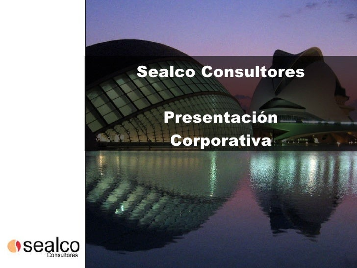 Sealco Consultores Presentación Corporativa