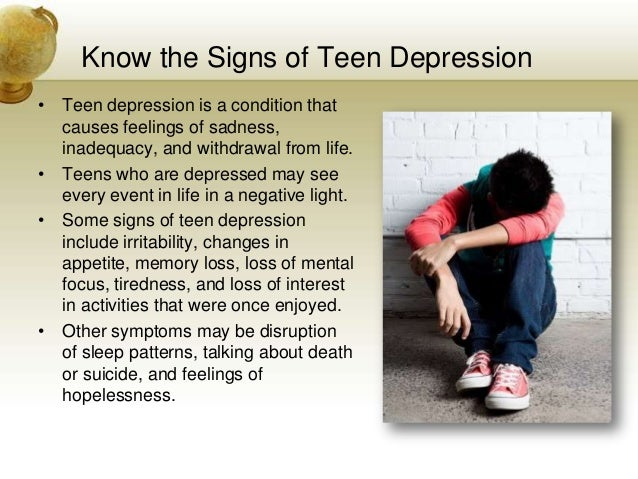 depression and teen violence Researchers identify a spike in major depression among teens since 2005—but there hasn as reported in time's nov 7th cover story community violence.