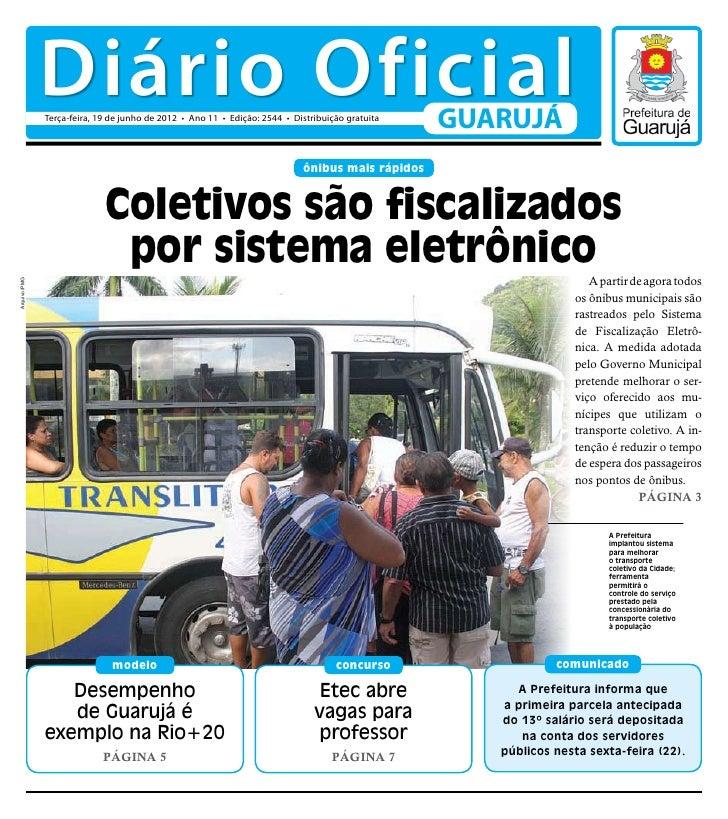 Diário Oficial de Guarujá - 19-06-2012