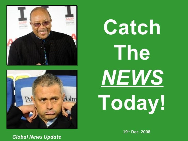 19 Dec Global News update catch the news today