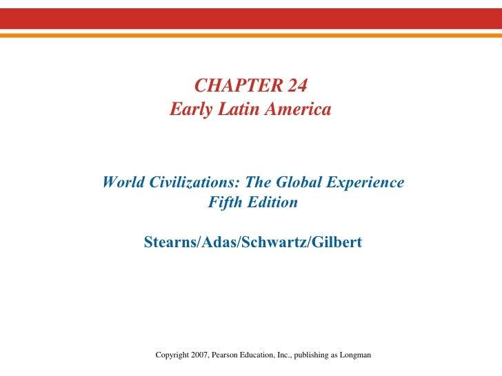 19.  Early Latin America